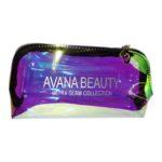 Avaná Beauty Makeup Bag Ultra Glam - holographic travel bag