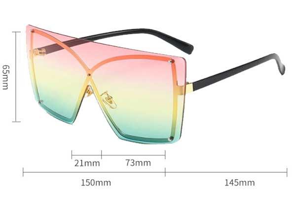 Rimless Caribean Sun Sunglasses Avaná Beauty