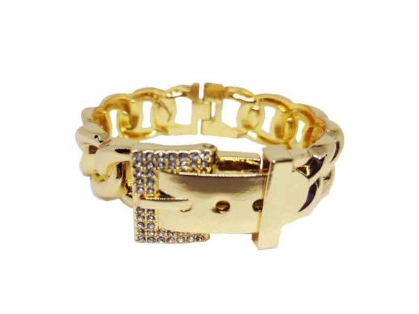 Diamond Link Gold Bracelet Avaná Beauty