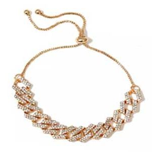 Diamond Linked-Up Anklet Chain