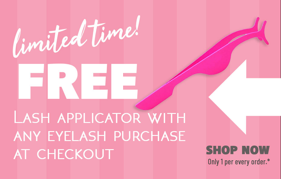 Avaná Beauty is giving away Free Lash Applicators with Purchase of Faux Mink Eyelashes at Checkout FREEBIE